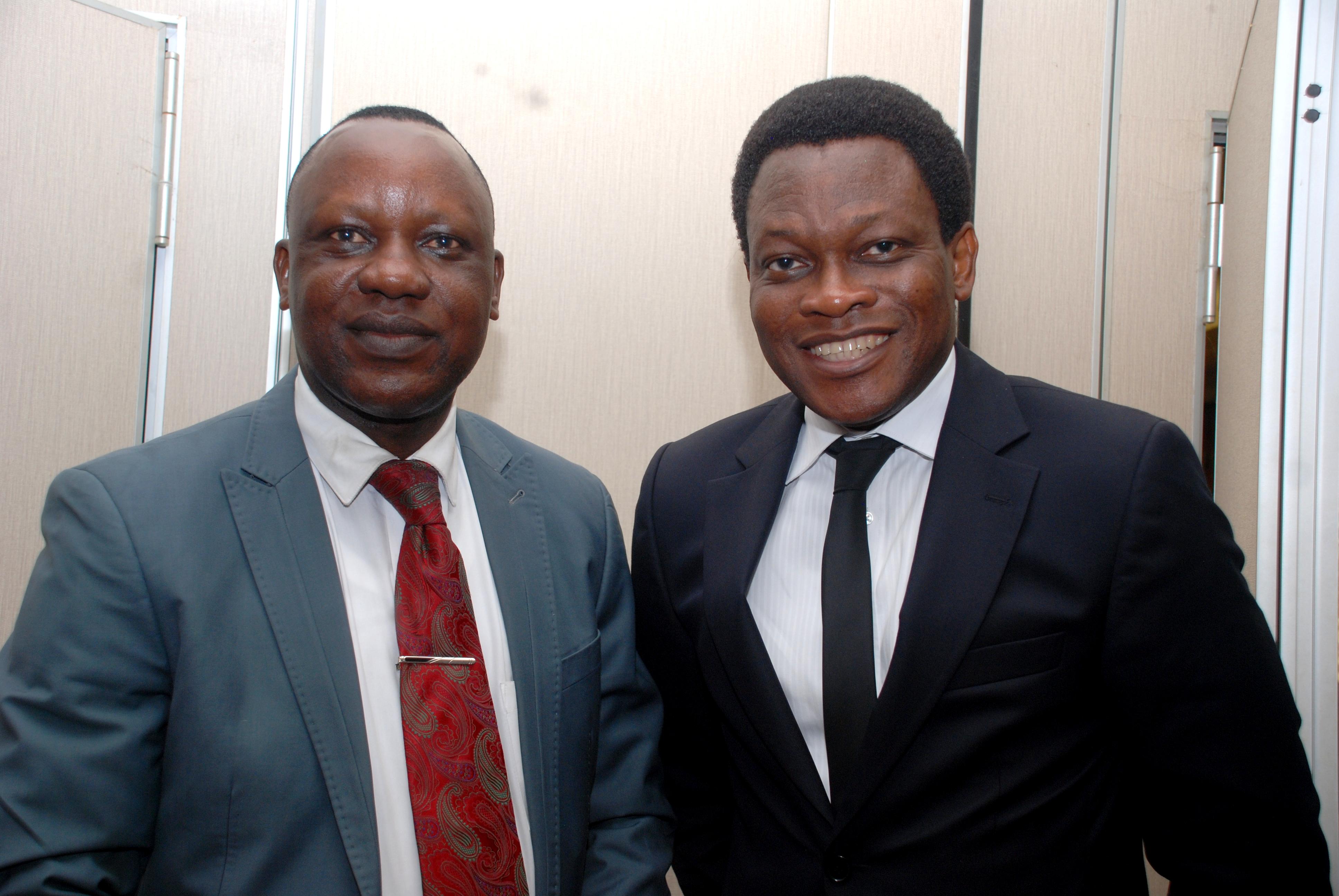 Callistus Okoruwa and Lekan Ishola at PR Redline